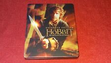 The Hobbit - Extended Edition Exclusive Steelbook Blu-ray Peter Jackson Movie