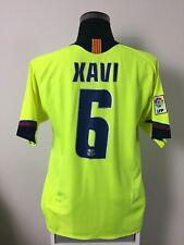XAVI #6 Barcelona Away Football Shirt Jersey 2005/06 (L)