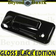 14-17 TOYOTA TUNDRA GLOSS BLACK Tailgate Handle Cover Overlay Trim w/Camera Hole
