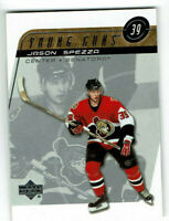 2002 Jason Spezza Upper Deck Young Guns Rookie #443