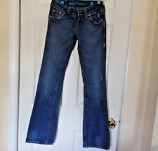 SANG REAL BY MISS ME VERY NICE BOOT CUT JEANS SZ 26 32.5 LONG