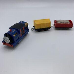 Timothy Thomas The Engine Trackmaster Motorized Train + Tender + Cargo 2013 Car