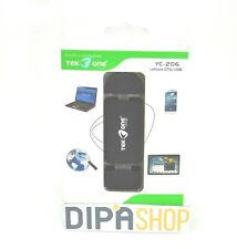 Lettore OTG USB TeKone YC-206 3in1 Usb Type C Tipo Memory Card SD Microsd hsb