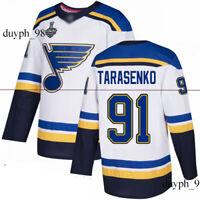 St. Louis Blues #91 Vladimir Tarasenko White Jersey 2019 Stanley Cup Final