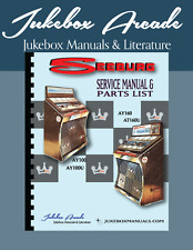 Seeburg Models Ay100, Ay160, Ay100U, Ay160U Service & Parts Manual New Updated!