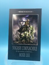 livre roman warhammer TBE VF nagash l'implacable mike lee time of legends