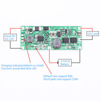 DC 5V-12V to 12V Charging Module for 18650 Lithium Battery UPS Voltage Converter