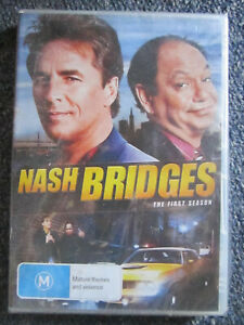 DVD NASH BRIDGES THE FIRST SEASON BRAND NEW SEALED  ** MUST SEE ***