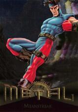 MEANSTREAK / Marvel Metal (1995 Fleer Corp.) BASE Trading Card #49