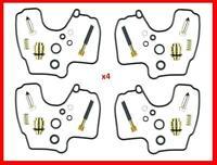 KR 4 X Carburetor Carb Rebuild Repair Kit KAWASAKI ZX-6R ZX6R ZZR600 ... NEW