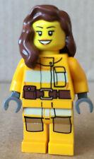 LEGO ® Minifigur Feuerwehfrau City Town Adventskalender 2012 cty0337 cty337