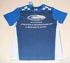 Ford Performance Vehicles FPV Boys Blue Printed Short Sleeve T Shirt Size 10 New