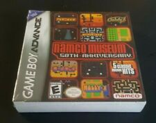 Brand New Gameboy Advance Game  DS DsL SP ~ NAMCO MUSEUM 50th ANNIVERSARY ~ RARE