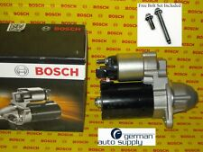 BMW Starter Motor - BOSCH - 0001107527, SR0492N - NEW OEM - with Bolts