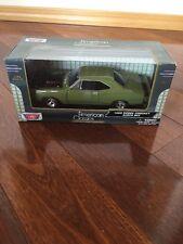 Motor Max American Classics 1969 Dodge Coronet Super Bee Green 2014 1/24 New