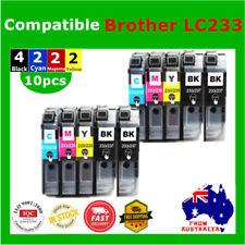 10x Generic LC233 233 ink cartridge for Brother MFC J4120 J4620 J5320 J480 J680