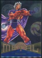 1995 Marvel Metal Trading Card #104 Magneto