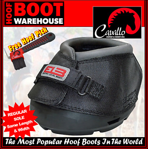Cavallo ENTRY LEVEL 'ELB' Hoof Boots (Pair)- Horse Equine Protection REGULAR FIT