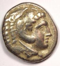 Alexander the Great III AR Tetradrachm Coin - 336-323 BC - VF (Very Fine)!
