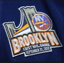 NEW YORK ISLANDERS BROOKLYN ISLANDERS PATCH BROOKLYN FIRST NHL GAME 2013 JERSEY