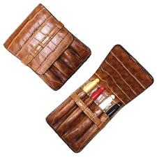 Luxury Coffee Pencils Case Stationery School Office Supplies Pens Bag Roller New