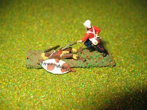 1/72 Model British Zulu War Isandlwana soldier ground attack Zulu custom made