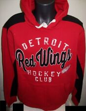"""DETROIT RED WINGS """"Hockey Club""""  Pull Over Hoody  2X Red"""
