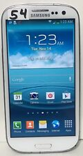 Samsung Galaxy S III S3 SGH-T999L 4G LTE 16GB Marble White T-Mobile Smartphone