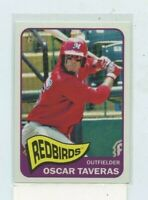 OSCAR TAVERAS 2014 Topps Heritage Minors Rookie Card RC #110A Cardinals