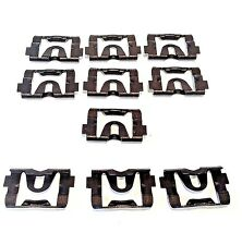 10x 1968-1976 GM Window Windshield Molding Clips Reveal Trim Retainers Fasteners