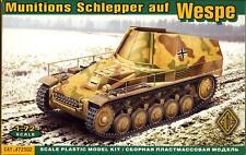 Ace Models 1/72 German WESPE MUNITIONS SCHLEPPER Ammunition Carrier