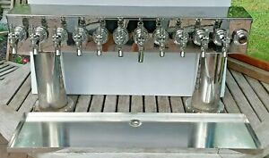 12 Faucet GLYCOL READY Stainless Steel Draft Beer Tower >Bar - Tavern - Brew Pub