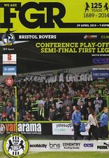 2015 PLAY-OFF SEMI-FINAL- FOREST GREEN ROVERS v BRISTOL ROVERS (29th April 2015)