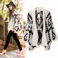 Women's Cotton Blend Geometric Jumpers & Cardigans