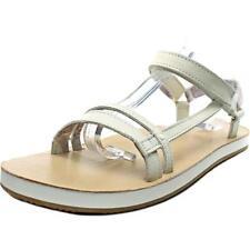 Sandali e scarpe slim bianco per il mare da donna 100% pelle