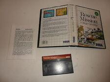 Sega Master System rescue mission