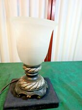 2007 Beautiful Electric Decorative Tabletop Lamp w/Frosted Glass Shade