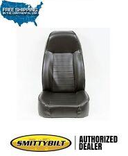 Smittybilt Standard Bucket Seat Jeep 76-86 CJ-7 87-13 Wrangler 44901 Black Vinyl