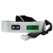 Electronic LCD Digital Fish Hanging Luggage Weight  Hook Scale Portable 50kg