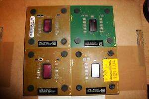 4x Athlon XP Barton, u.a. auch Athlon XP 3200+ AXDA3200KV4E Sockel A 462