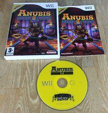 Anubis II Pour NINTENDO WII & WII U – très bon état-Fast Post-jeu