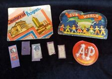 Vintage Needle Books Packets A&P Our World Century of Progress West Germany Lot