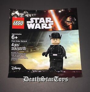 Star Wars Lego Poly Bag The Force Awakens First Order General Hux Minifigure TFA