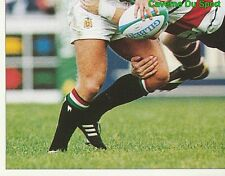 366 NEIL BACK LEICESTER TIGERS 3/4  STICKER PREMIER DIVISION RUGBY 1998 PANINI