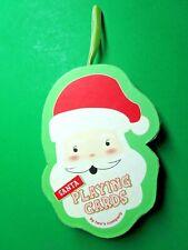 Two'S Company 52 Card Deck + Jokers Santa Playing Cards Ornament Nip (Cm)