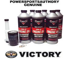 Polaris Victory OEM Motorcycle Oil Change Kit Semi-Synthetic 20W-40 2873551