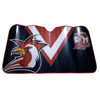 NRL Car Windshield Sunvisor Sun Shade - Sydney Roosters - Rugby League