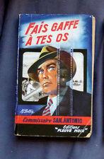 SAN ANTONIO  C'EST MORT ET CA NE SAIT PAS    Ed FLEUVE NOIR 1956  N° 90