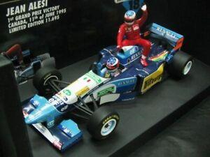 WOW EXTREMELY RARE Benetton B195 Schumacher Alesi Taxi Canada 95 1:18 Minichamps