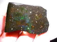 150 cts HONDURAS Roh BLACK Matrix Opal Rough SAMMLERSTEIN HO17